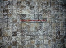 Classic coconut shell mosaic